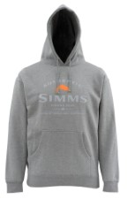 Simms Badge of Authenticity Hoody Gunmetal Heather